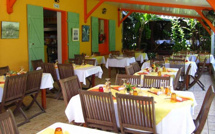 Restaurant le carbet martinique